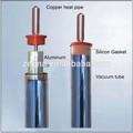 Tubo de cobre solar de tubo amortiguador, Tubo de calor de tubo de vacío