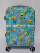 Hot Selling Aluminium Frame Trolley Luggage travel suitcase