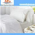 algodão hotel e hospital de porcelana branca de neve conjunto de cama roupa de cama