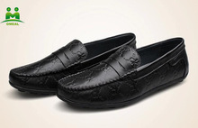 hot sell nice quality genuine leather casual shoes loafers