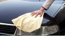 Polishing disposable lint free nonscratch microfiber cleaning cloth car care products