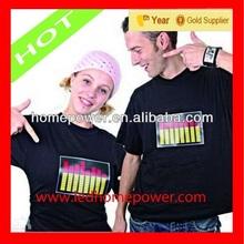 LED T shirt manufacturer sales promotion