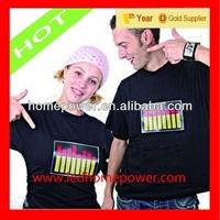 High quality LED T shirts