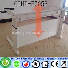 NIPPON TELEGRAPH & TELEPHONE 2 legs manual crank height adjustable office desks frame