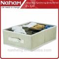 Nova naham& bra underwear caixa de armazenamento foldable tecido caixa de armazenamento