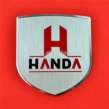 metal brand logo,customize aluminum stickers
