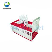 Plastic transport pigeon cage