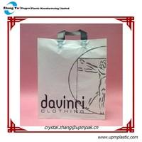 Brand Logo Print Flexiloop Handle Tote Bag