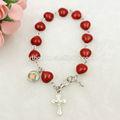 pulsera del rosario santo