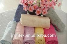 Custom 100%Cotton jacquard dobby border towels for face