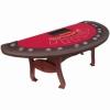 84 inch Wooden Blackjack Poker Table
