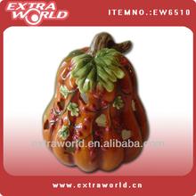 ceramic thanksgiving Pumpkin shape jar