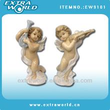 music porcelain angel figurines