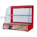 Curva de vidro vitrine, equipamento da padaria, fabricante, podemos exportar