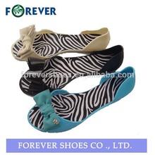 Latest pvc ladies sandals designs,flat sandals for woman