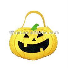 wholesale fashion pumpkin bag with felt