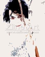 women hot sex image POP-Art canvas painting