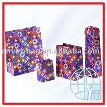 Full Set Gift Paper Bag Promotion Usage