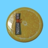 Partrial Non-adhesive Peel Off plastic rubber labels for Bags/shoes/care products