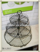 New design any color available wire cup cake stands