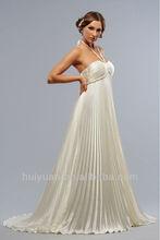 2014 new halter designer pregnant women wedding dress