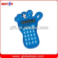 Mini Calculator in Foot Shape