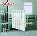 Centrale di riscaldamento a radiatoriin alluminio/alluminio pressofuso