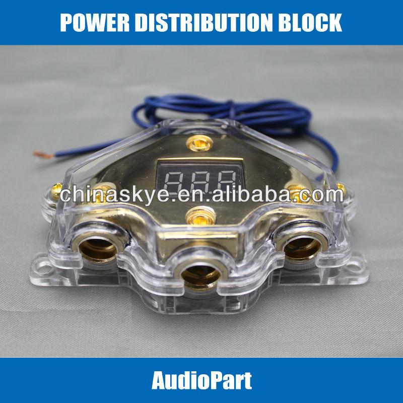 2GA,4GA Power Distribution Block car audio accessories