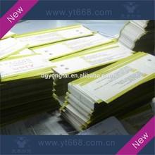 Anti-counterfeiting watermark admission ticket printing