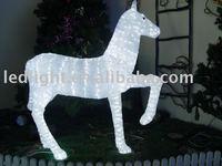horse shape,Christmas light