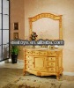 Hot selling durable and Best quality dark blown antique bathroom cabinet