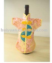 knitted bottle cover Wine Bottle Cover