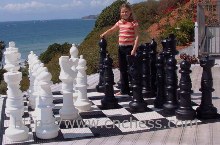 Gigante jard n pieza de ajedrez 36 39 39 rey ajedrez for Ajedrea de jardin