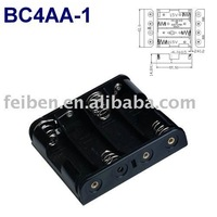 4AA Battery Holder/Cell Box