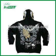 Men's CVC60/40 heavy varsity FLeece pullover Hoodies