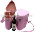 leather wine box, wine carrier, wine case