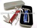 Con un precio competitivo multi- propósito martillo de acero inoxidable con tratamiento de anodizado mango de aluminio y accesorios