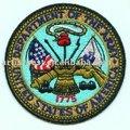 feutre de polyester laine militaire badge accessoire de mode