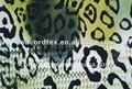 impresso de ouro tecido de viscose para o vestuário
