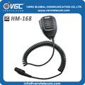 china fornecedor de fm transceptor sem fio ombro speaker microfone de rádio em dois sentidos