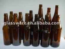 amber beer glass bottle 330ml, 500ml, 600ml, 640ml