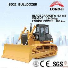 Shantui SD22 hydraulic crawler bulldozer(crawler tracked bulldozer)