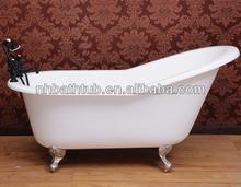 cast iron bathtub with legs