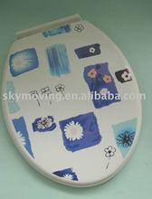 New design plastic toilet seat cover