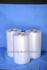 Polyolefin three-layer bi-oriented shrink film