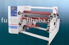 Jumbo roll adhesive tape slitting machine/machine to produce scotch