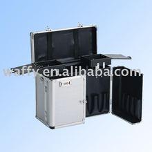 Double open air travel luggage trolley case/aluminum pilot case