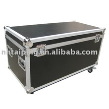 new design Large Aluminum flight Case with wheels and 9MM board for heavy transport