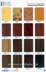 Non-postforming but flexible Premium woodgrain HPL sheet