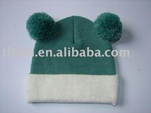 2012 latest kids knitting hat